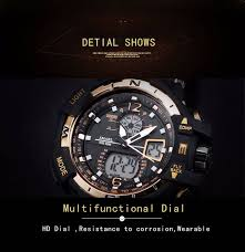 Buy <b>SMAEL</b> Men's Watches <b>Top Brand</b> Luxury Quartz Digital Watch ...