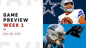 Dallas Cowboys vs. Carolina Panthers | Week 1 Game Preview ...