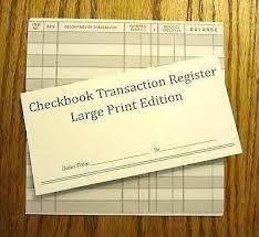 Printable Check Register Book Transaction Register Book Printable Surcreative Co