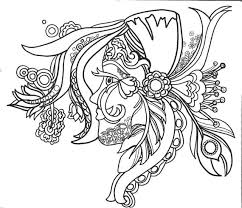Small Picture 15 ColoringPages FunFancyFunkyFaces Vol1 Original Art
