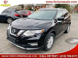 2017 nissan rogue sv available for in springfield massachusetts fortuna auto s