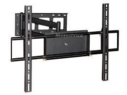 mono corner friendly full motion articulating tv wall mount bracket for tvs 37in to 70in