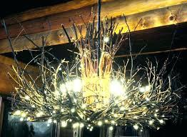 outdoor chandelier diy rustic ladder outdoor