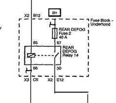chevrolet rr defog questions answers pictures fixya which fuse box on the 2011 chevy bu is the fuse for the rear defrost