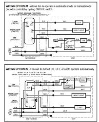 nutone exhaust fan wiring diagram wiring diagram 763rln bath and ventilation fans nutone