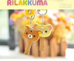 New Cute Rilakkuma Series Ii S Key Holder Key Cover Keychain Strap Charm  Keychains For Men Designer Keyrings From Lanshcompany, $25.12| Dhgate.Com