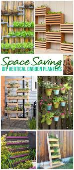 diy projects for the weekend the best diy space saving vertical garden planters tutorials