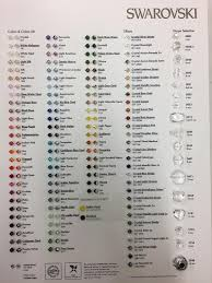 Bicone Bead Size Chart Pin On Products