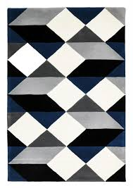 fetching white and navy rug with dresden grey geometric wool rug blue rugby stripe curtains