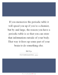 Periodic Table Quotes & Sayings | Periodic Table Picture Quotes