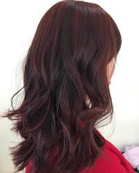 Dark Brown Dark Red Hair Color