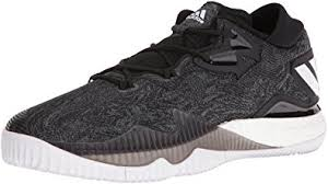 adidas basketball shoes. adidas performance men\u0027s shoes | crazylight boost low basketball, black/white/black, basketball a