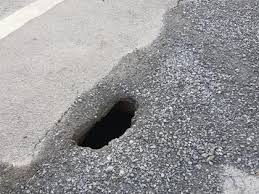 PICTURE: Emergency works to be carried out as hole appears on road in  Bagenalstown - Carlow Live