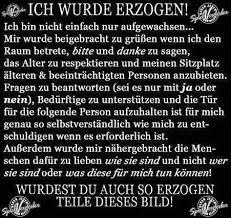 Anstand Respekt Und Manieren Deutschland Sprüche Zitate