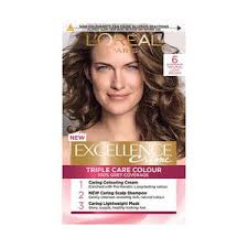 Creme Of Nature Permanent Hair Color Chart Excellence Creme 6 Natural Light Brown Hair Dye