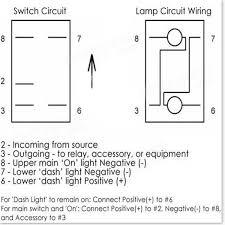 5 pin 12v 24v laser led light bar rocker toggle switch narva arb 7 Pin Rocker Switch Wiring Diagram 5 pin 12v 24v laser led light bar rocker toggle switch narva arb carling car boat mictuning rocker switch 7 pin wiring diagram
