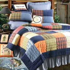 king size patchwork quilts king size patchwork quilt c f northern plaid quilt bedding by cf