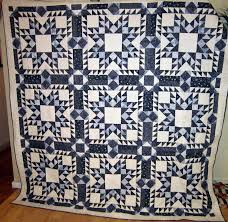 Blizzard in Blue or Finally the Blue and White Quilt is DONE &  Adamdwight.com