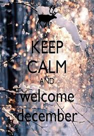 welcome december keep calm quote wallpaper hd