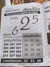 เลขเด็ดเซียนโป๋ว งวด 16/11/63 ===>>>... - เลขเด็ด Lottonew