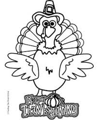 Thanksgiving Turkey Coloring Page Coloring Page Crafting The Word