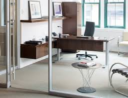 office side tables. Noguchi Table; Knoll Open Plan Activity Spaces; Reff Profiles Private Office Remix High Back Chair Cyclone Side Tables A