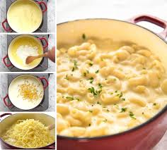 this stovetop macaroni and cheese is all made in one pot the sauce is incredibly