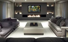 flat modern decor and living room rustic vintage decoration gray walls decorating designs ideas kitchen pictures