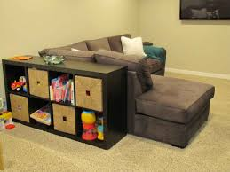 Storage For Living Room Funiture Living Room Storage By Using Spaces Between Sofa And