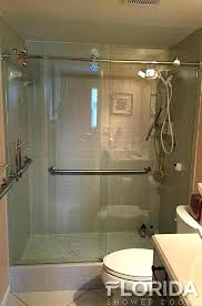 appealing fixed glass shower door rolling glass shower doors rolling enclosure unit chrome clear with round appealing fixed glass shower door
