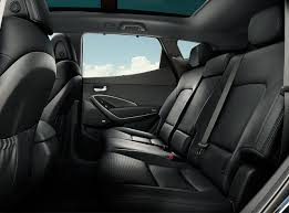 interior rows of comfort and convenience