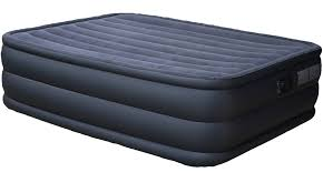 intex air bed queen raised downy