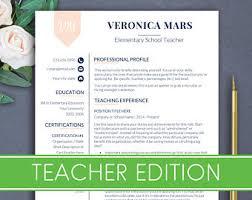 Educator Resume Template Teacher Cv Template Principal Resume