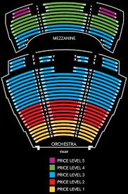 Wynn Las Vegas Encore Theater Seating Chart