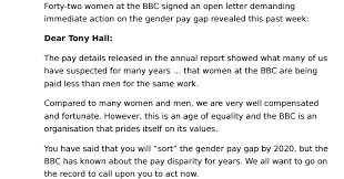 image Forty two women signed an open letter to the BBC Jumbo v3