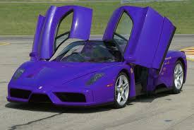 ferrari car purple. purple ferrari car thesupercars.org