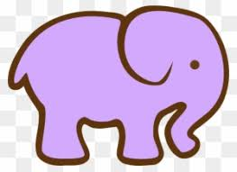 elephant clipart for kids. Fine Clipart Elephant Clipart For Kids  Simple Cartoon In T
