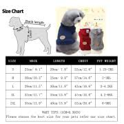 Blue Pet Clothes Handmade Pet Sweater Clothes For Small Medium Large Dog Cat Winter Warm Clothes Straw Rope Jacket Coats For Puppy S 2xl