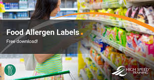 Food Allergen Labels Guidance Free Template Download