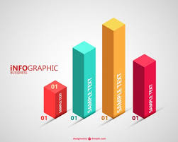 3d charts Vector Free Download