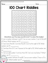 One Hundred Chart Activities 100 Chart Activities And Posters Math Math Journals