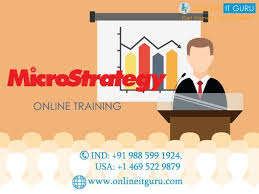 Microstrategy Online Training Online Courses And India