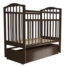 Детская <b>кроватка Агат Золушка</b>-6 маятник продольный с ящиком ...