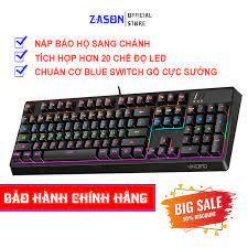 Bàn phím cơ chuyên game yindiao zk-4 blue switch, nút tròn, nhiều chế độ  led tùy chỉnh (hàng chính hãng) - Sắp xếp theo liên quan sản phẩm