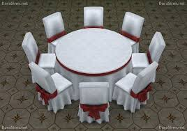 big round festive dining tables 6 8 seats at dara sims a sims 4 dining table for 6 8 6 8 person dining room table dimensions