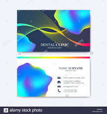 Template For Modern Vector Template For Business Card Design Abstract
