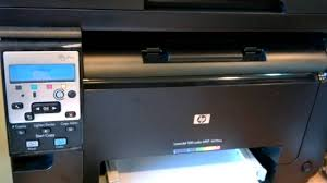 Hp Laserjet 100 Color Mfp M175nw Youtube