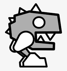 Geometry Dash Icon Coloring Pages Geometry Dash Robot 3