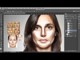 contour shaping photo makeup tutorial you photo videofree