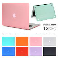 Laptop Case For Apple Macbook Mac book Air Pro Retina New Touch Bar 11 12  13 15 inch Hard Laptop Cover Case 13.3 Bag Shell|Laptop Bags & Cases